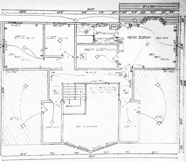 Plan Drawings Fern Meadow House