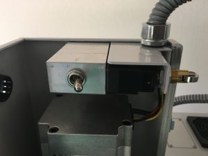 Spindle Lockout Switch added to Tormach PCNC 440